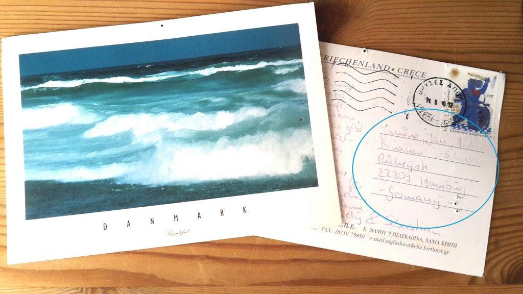 Postkarte richtig beschriften in Deutschland auf 123familie.de