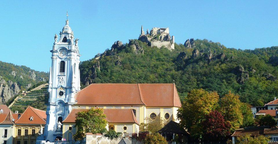 Kirche in Dürnstein - Wachau